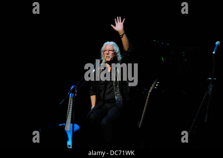 Arlo Guthrie on stage. Perth, 13th March, 2013 - Stock Image
