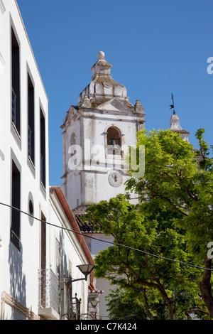 Portugal, Algarve, Lagos, Igreja de Santo Antonio (Church) - Stock Image