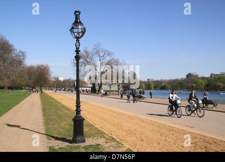 Hyde Park London - Stock Image