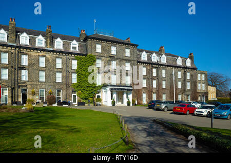 The Old Swan Hotel in Harrogate North Yorkshire England - Stock Image