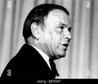 Singer FRANK SINATRA in the late 1970's - Stock Image