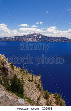 Crater Lake National Park, Oregon, USA - Stock Image