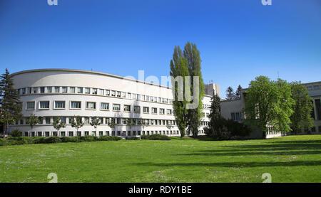 Banovina palace, Parliament building of province Vojvodina in Novi Sad, Serbia - Stock Image