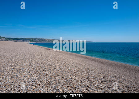 On Chesil Beach in Dorset - Stock Image