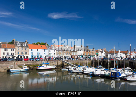 Anstruther Harbour in the East Neuk of Fife - Stock Image