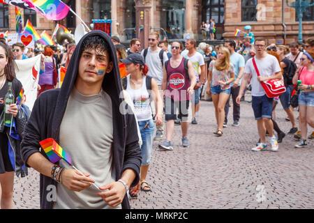 CSD Wiesbaden, Germany. 3rd June 2017. - Stock Image