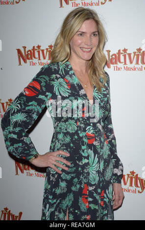 Celebrities attend 'Nativity! The Musical' Press Night held at the Hammersmith Apollo theatre  Featuring: Lisa Faulkner Where: London, United Kingdom When: 20 Dec 2018 Credit: WENN.com - Stock Image