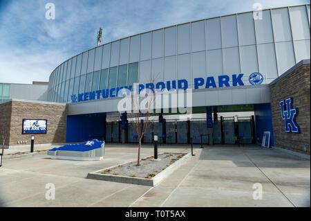 Kentucky Proud Park at University of Kentucky - Stock Image