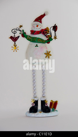 Christmas,seasonal,decoration,snowman - Stock Image