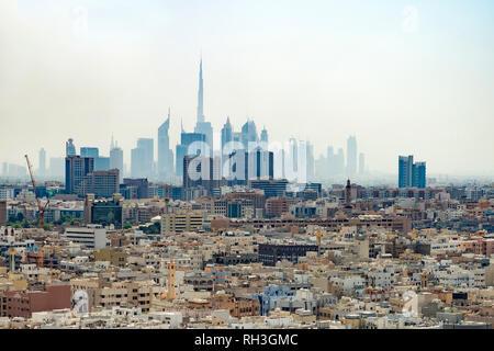 Dubai cityscape, United Arab Emirates - Stock Image