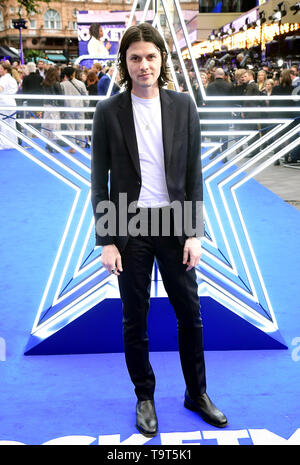 James Bay attending the Rocketman UK Premiere, at the Odeon Luxe, Leicester Square, London. - Stock Image