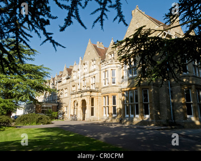 Saint Hilda's College at Oxford University, Oxford, England. June 2010. - Stock Image