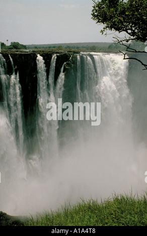 Victoria Falls Zimbabwe Africa - Stock Image