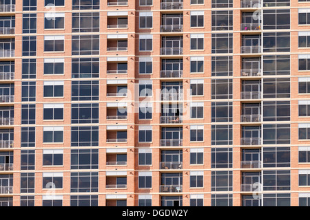 Apartment block Austin Texas USA - Stock Image