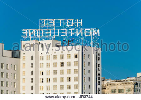 United States, Louisiana, New Orleans, French Quarter. Hotel Monteleone. - Stock Image