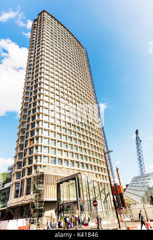Centre Point or Centrepoint, 101 New Oxford Street, London, Centre Point building, New Oxford Street, West End, City of Westminster, building exterior - Stock Image