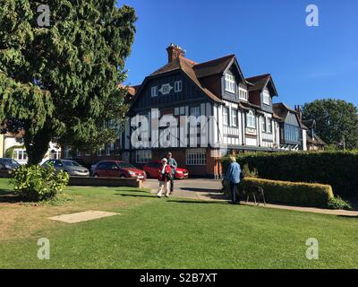 The Swan Inn, Horning. - Stock Image