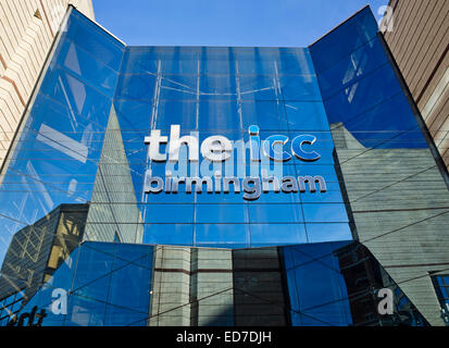 Entrance to The International Convention Centre in Birmingham  England UK - Stock Image