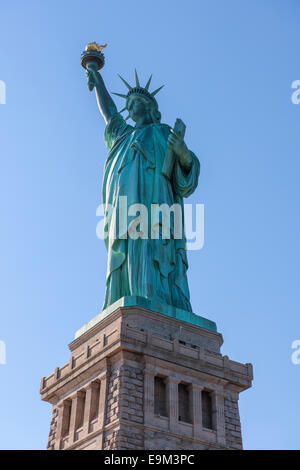 Statue of Liberty, New York, Ellis Island - Stock Image