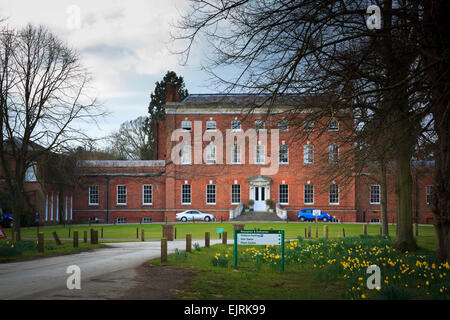 Old main building of Berkshire College of Agriculture - Stock Image