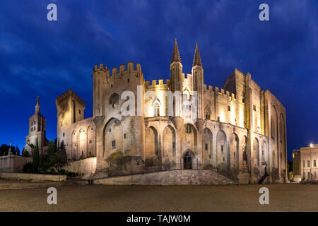 Palace of the Popes, Avignon, France - Stock Image