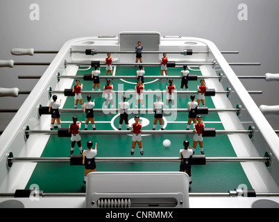 A stylish table football game - Stock Image