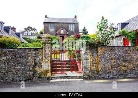 Old Alms houses at Kinsale, Ireland. - Stock Image