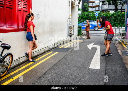 Kampong Glam, Singapore - Stock Image