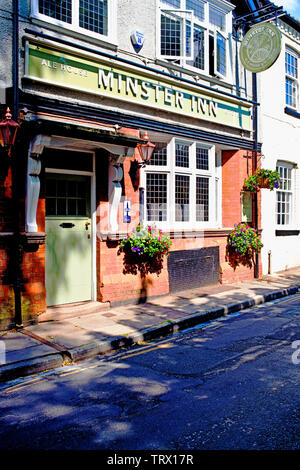 Minster Inn, Marygate, York, England - Stock Image