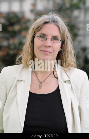 Hay Festival, Hay on Wye, Powys, Wales, UK - Thursday 30th May 2019 - Author and illustrator Katrina van Grouw at the Hay Festival to talk about her book Unnatural Selection. Photo Steven May / Alamy Live News - Stock Image