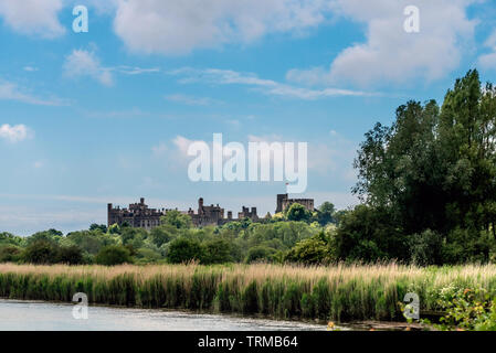 In and around Arundel Castle - Stock Image