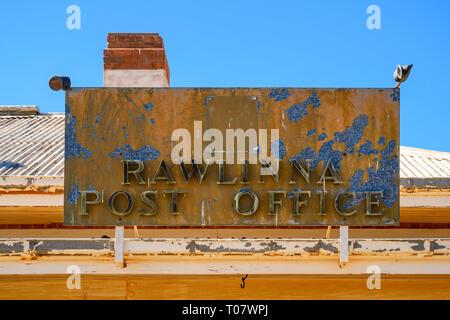 Rawlinna Post Office, Rawlinna, Western Australia, Australia - Stock Image