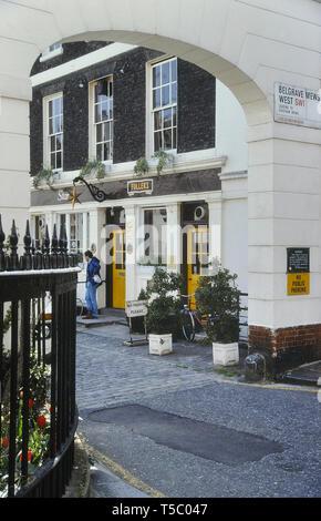 The Star Tavern, Belgravia, London, England, UK. Circa 1980's - Stock Image