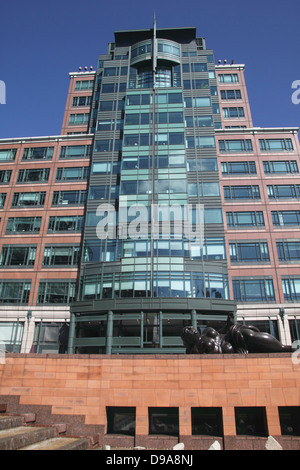 European Bank for Reconstruction and Development Exchange Square London - Stock Image
