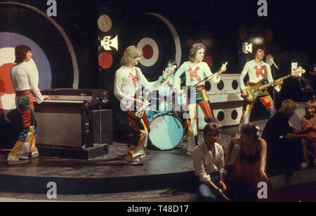 KENNY English pop group in 1971 - Stock Image