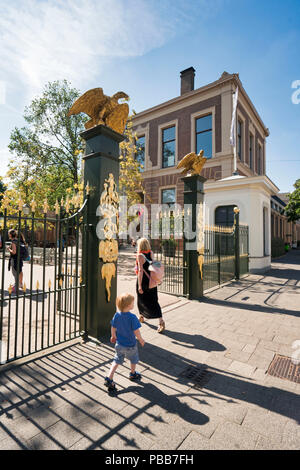 Entrentrance to Artis zoo in Amsterdam - Stock Image