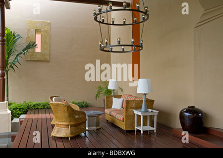 Lobby Lounge, Four Seasons Resort Langkawi - Stock Image