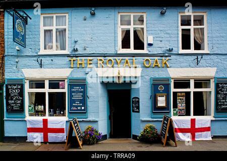 The Royal Oak, Malton, North Yorkshire, England - Stock Image