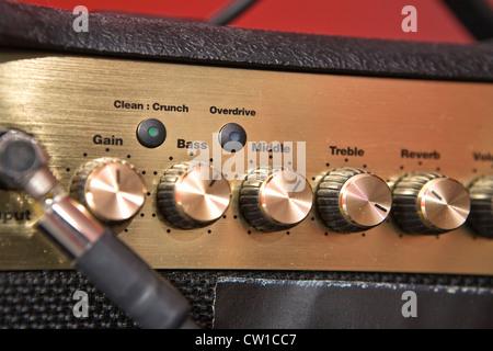 Guitar Amplifier - Stock Image