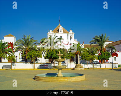 The convent on Plaza la Caridad in Arcos - Stock Image