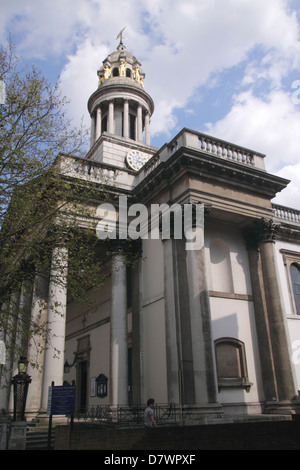 St Marylebone Parish Church Marylebone Road London - Stock Image