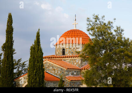 The Church of All Saints at Stavrovouni Monastery, Cyprus October 2018 - Stock Image