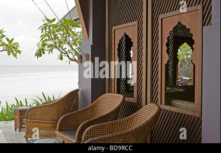 Rhu Bar, Four Seasons Resort Langkawi - Stock Image