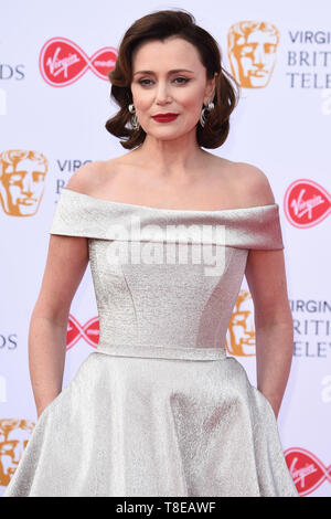 LONDON, UK. May 12, 2019: Keeley Hawes arriving for the BAFTA TV Awards 2019 at the Royal Festival Hall, London. Picture: Steve Vas/Featureflash - Stock Image