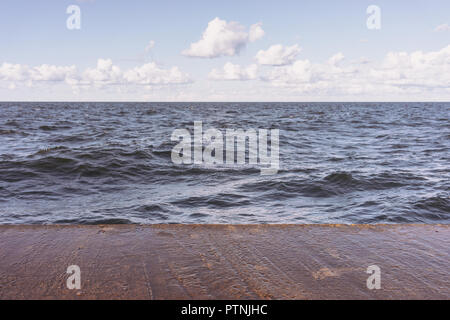 Three elements on a sunny summer day - Stock Image