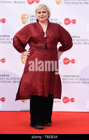 London, UK. 12th May, 2019. LONDON, UK. May 12, 2019: Siobhan McSweeney arriving for the BAFTA TV Awards 2019 at the Royal Festival Hall, London. Picture: Steve Vas/Featureflash Credit: Paul Smith/Alamy Live News - Stock Image
