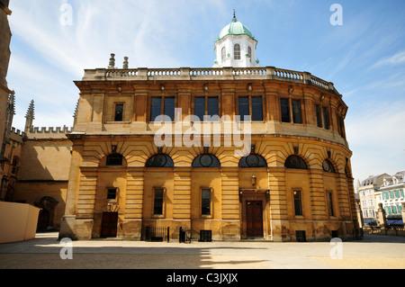 Sheldonian Theatre, Oxford University, Oxford, Oxfordshire - Stock Image