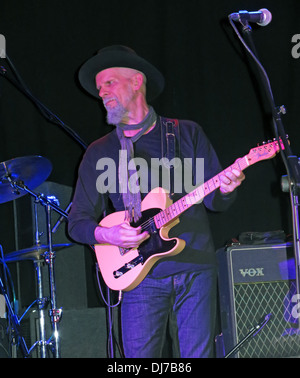 Jimmy Rip of New York based Television, live at the Manchester Academy November 17th 2013 - Stock Image
