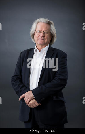 British philosopher A C Grayling. - Stock Image