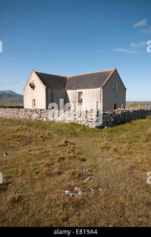 Decommissioned church now in private hands with planning permission to convert to a house. - Stock Image
